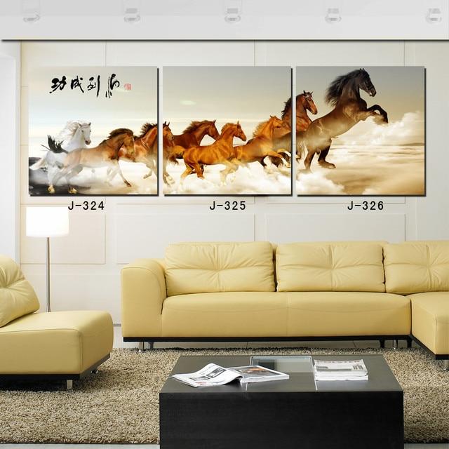 3 Stück Leinwand Wand Pferd Wahl Farbe Farben Für Wände Fertig Zum  Aufhängen Leinwand Regenschirm Moderne