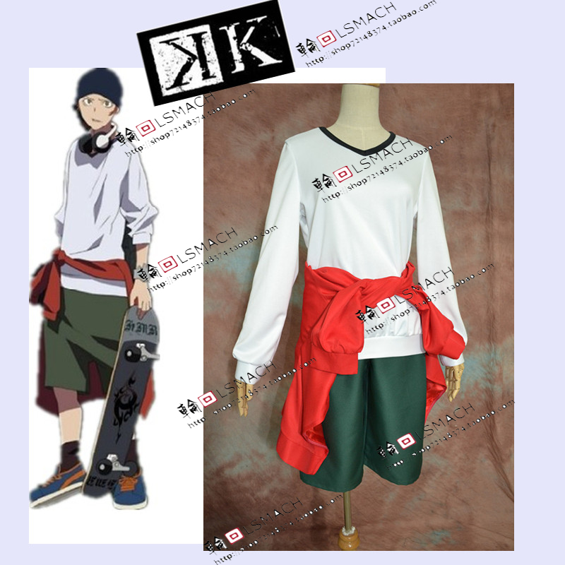 Free shipping K project Yata Misaki Cosplay Costume