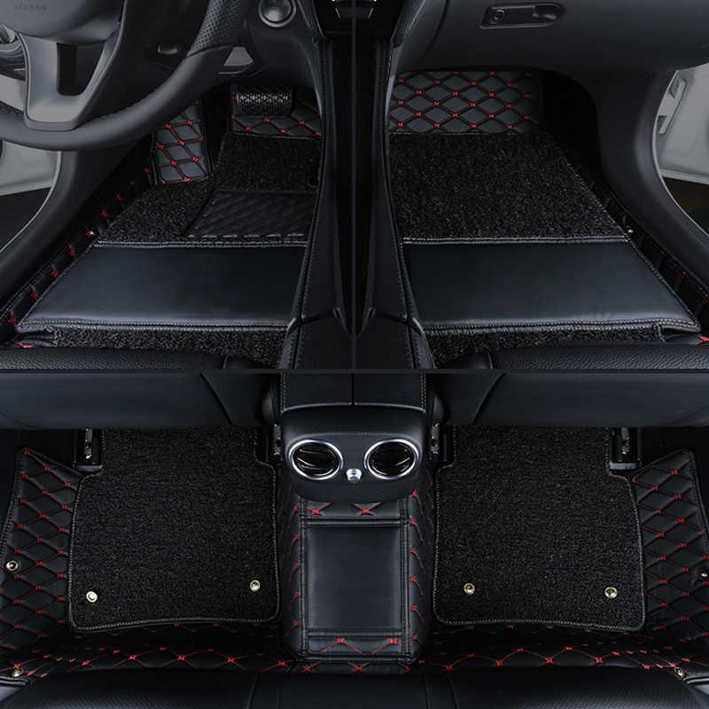 CARFUNNY مخصص صالح مكافحة القذرة سيارة الحصير لفورد التركيز مرافقة التيتانيوم مونديو فييستا S-ماكس رابتور سيارة التصميم السجاد