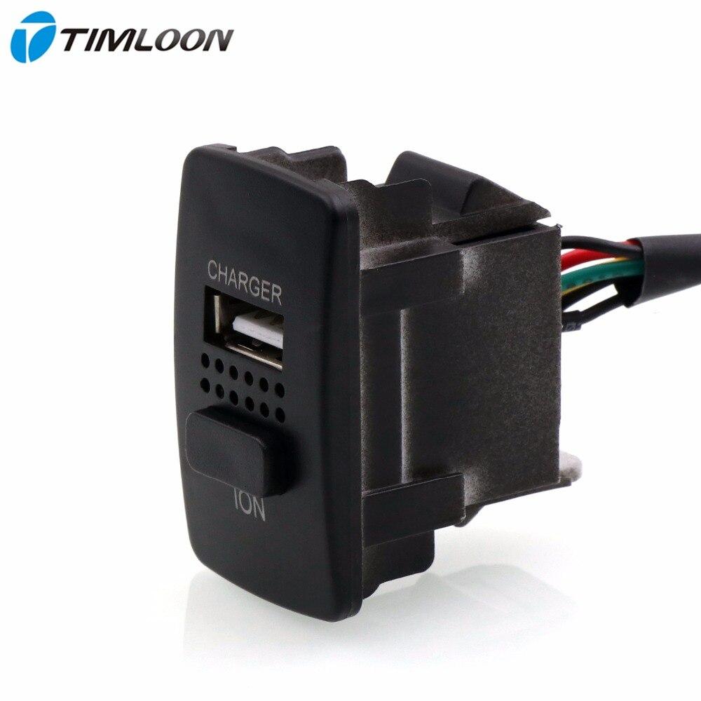 2in1 5 V 2.1A Interfaccia USB Presa Caricabatteria Per Auto, Auto Purificatore D'aria, Ionizzatore, Uso di Ioni Negativi per Honda, Civic, Spirior, CRV, Fit Jazz