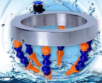 New design cnc engraving bits liquid  cooling clamp water spray set