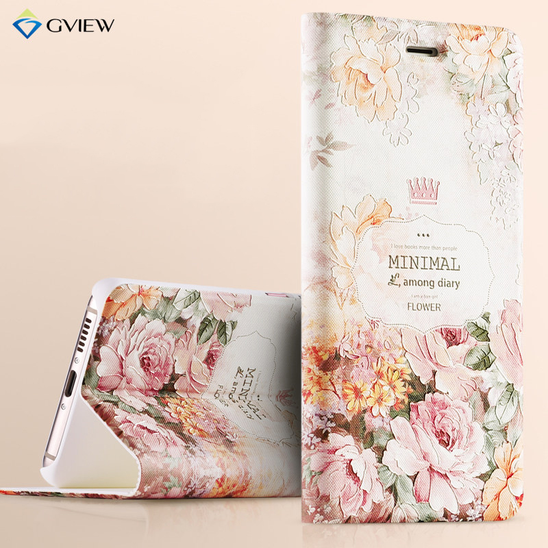 3D Relief Painting Luxury Flip Leather Case For Huawei Nova With Stand Phone Bag Cover Protector