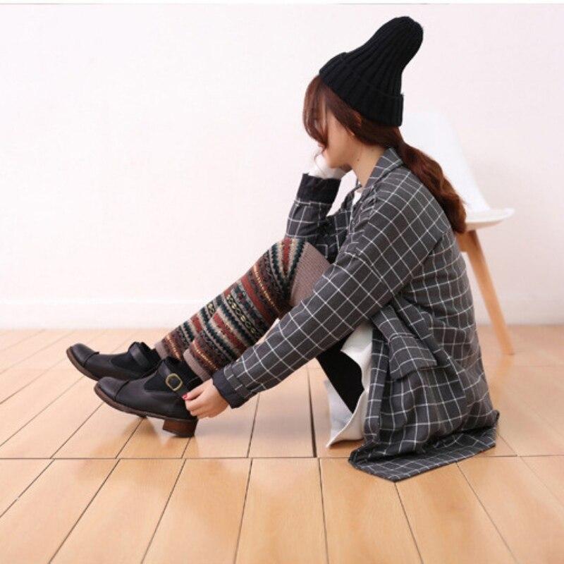 WEIXINBUY Women Winter Elegant Over Knee Long  Knit cover Patchwork Colorful Ladies Crochet Vintage Leg Warmers Legging Chic HTB1dynmcgfN8KJjSZFIq6A0UFXaq