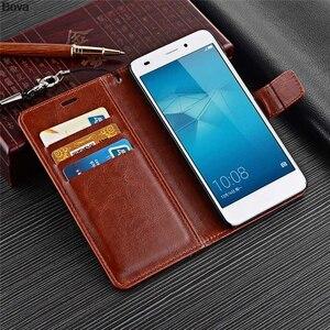 Image 3 - Fundas Huawei Honor 5C Loại Thẻ Dành Cho Huawei Honor 5C Pu Bao Da Điện Thoại Wallet Flip Cover Chất Lượng bao Da Túi