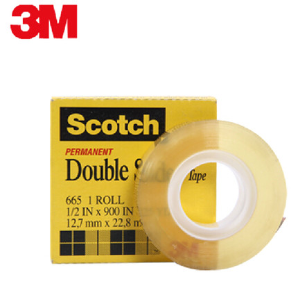 2x3m Scotch 665 Double Sided Adhesive Tape 3m 665 Scotch