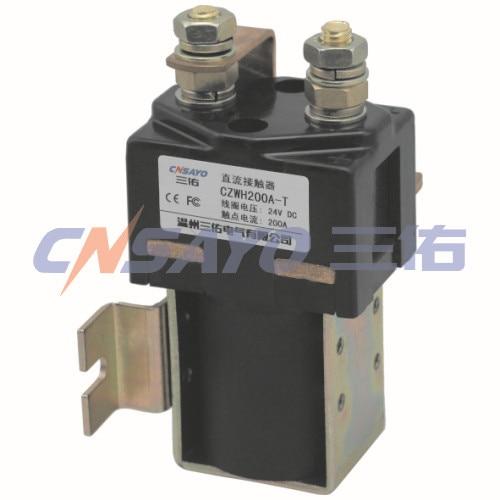 CZWH200A-T  dc contactor new lp2k series contactor lp2k06015 lp2k06015md lp2 k06015md 220v dc