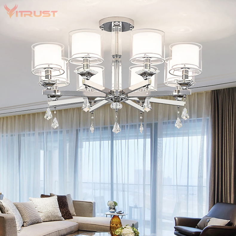 Chandelier Lighting Modern Crystal Lights Export K9