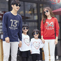 1 Piece 2016 Christmas Family Look Letter Mommy and Me Clothes Matching Family Clothing Sets Mother Daughter Father Baby T-shirt