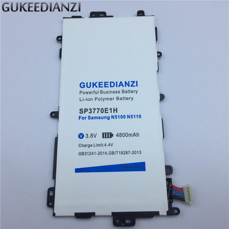 Gukeedianzi Tablet Li-ion Polymer Akku Sp3770e1h 4800 Mah Für Samsung Galaxy Note 8,0 Gt N5100 N5110 N5120 Angenehm Im Nachgeschmack Tablet-akkus & Backup-stromversorgung
