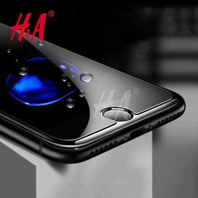 H & Анти Shatter Защитная Закаленное Стекло для iPhone 6 6 S 7 Экран протектор Плёнка для iPhone 6 6 S 7 Plus 5 5S Стекло