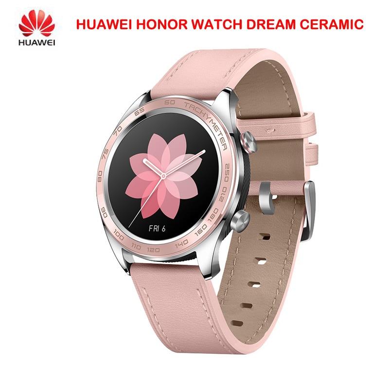 Original Huawei Honor Watch Dream Ceramic Ver Outdoor Smart Watch Sleek Slim Long Battery GPS Scientific