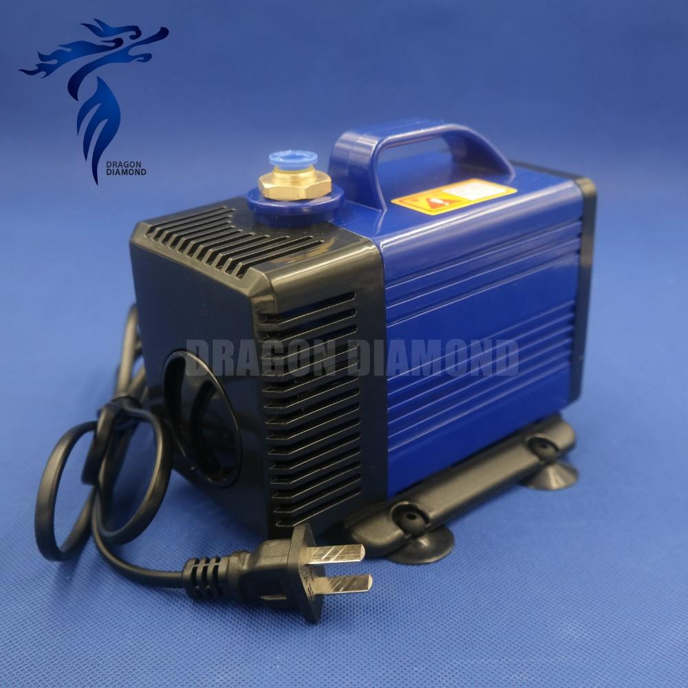 Более низкая цена 80 Вт 220 В водяного насоса 3.5 м для чпу шпинделя маршрутизатор двигателя Бесплатная доставка