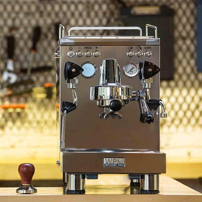 Kd-310 Welhome Commercial espresso machine à café/acier inoxydable machine à café espresso avec grande capacité et automatique rondelle