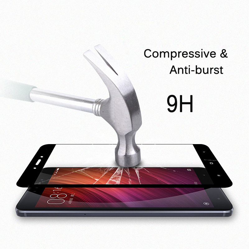 Kaca Tempered Untuk Xiaomi Redmi 4X / Redmi Note 4X (3G / 32G) - Aksesori dan suku cadang ponsel - Foto 3