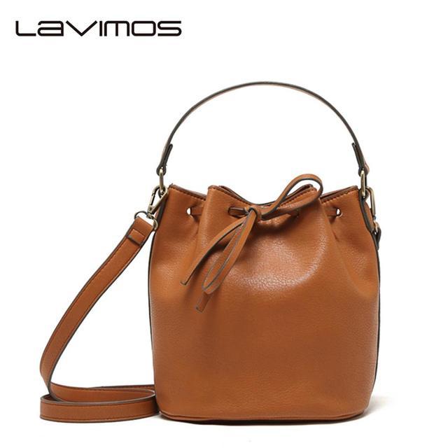 New Women Handbag Drawstring Bucket Messenger Hobo Shoulder Tote Bag Black Purse Barrel Shaped Draw Code  Bags Crossbody Bags