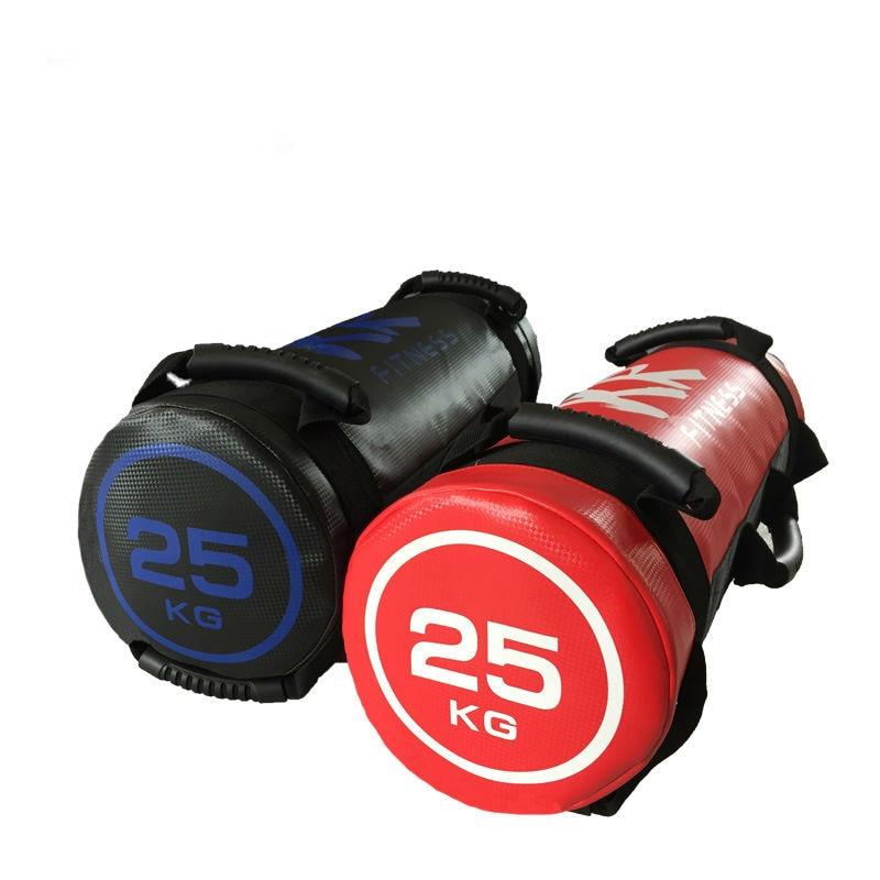 5-20kg Unfilled Power Bag Fitness Bulgarian Body Building Gym Sports Sand Bag Muscle Training Crossfit PU Leather Sandbag