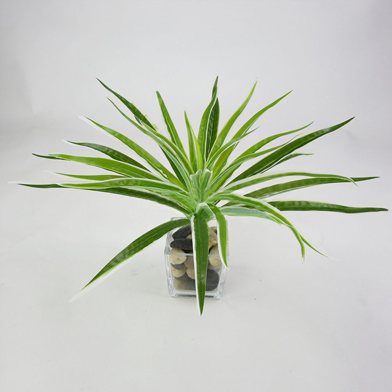 Image 5 - 1pc Artificial Plant Flower with Leaf Plastic Green Grass Tree Plant Fake Leaf Foliage Bush for Home Wedding Hotel Party Decor-in Artificial & Dried Flowers from Home & Garden