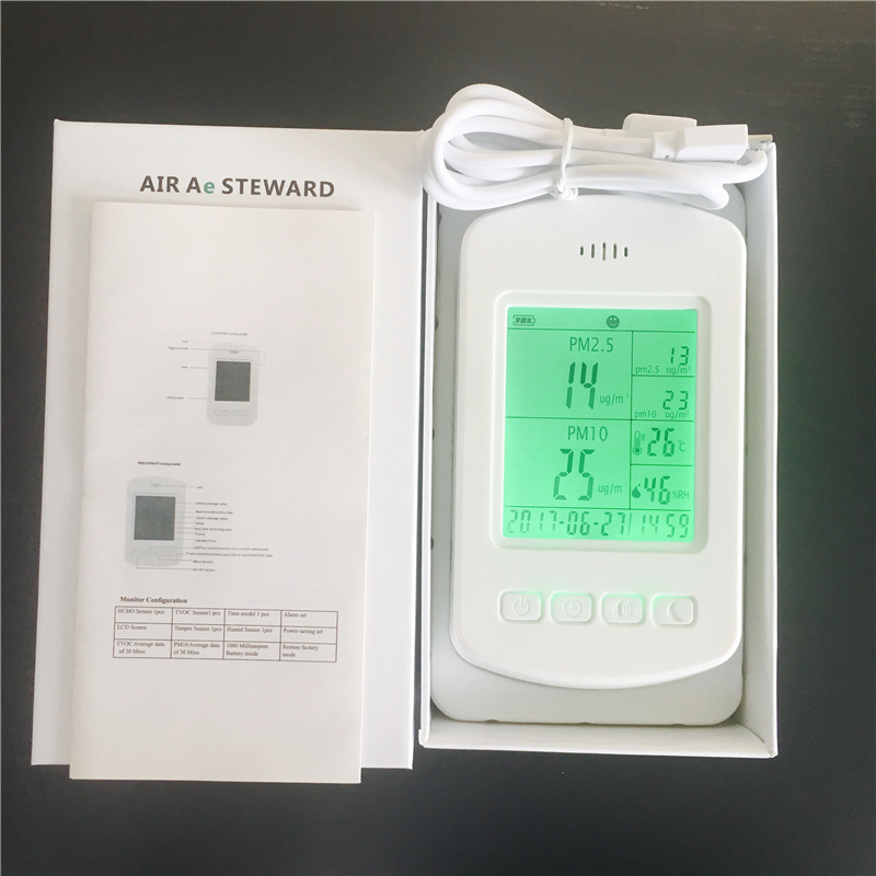 China Portable PM2.5 indoor air quality tester pm2.5 detector china