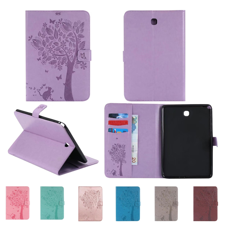 For Samsung Galaxy Tab A T350 Stand Top Quality PU Leather font b Cover b font