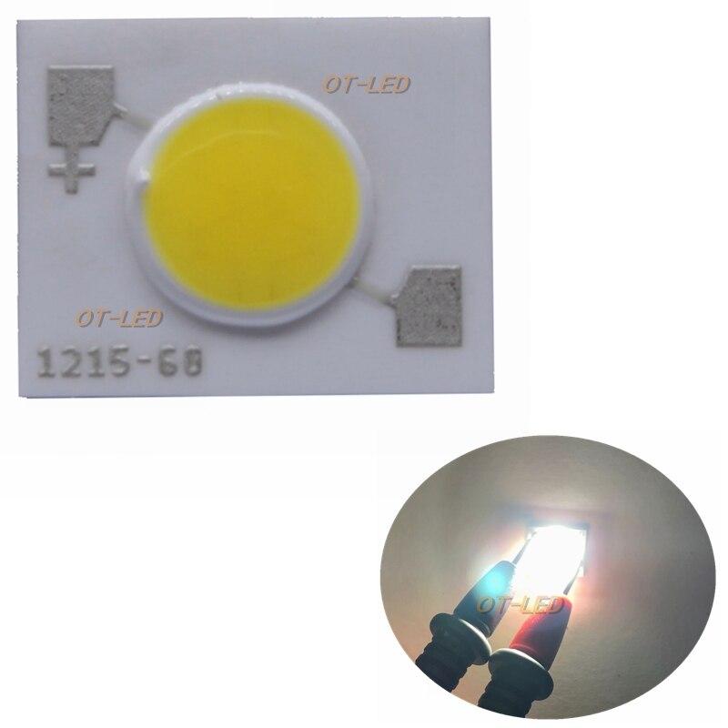 Pcs 100 pcs 5 20 w COB LEVOU EVERLIGHT Lâmpada Light Bulb Pure White COB Levou Chip de Luz de DIODO para DIY/Lâmpada de Luz Super Brilhante