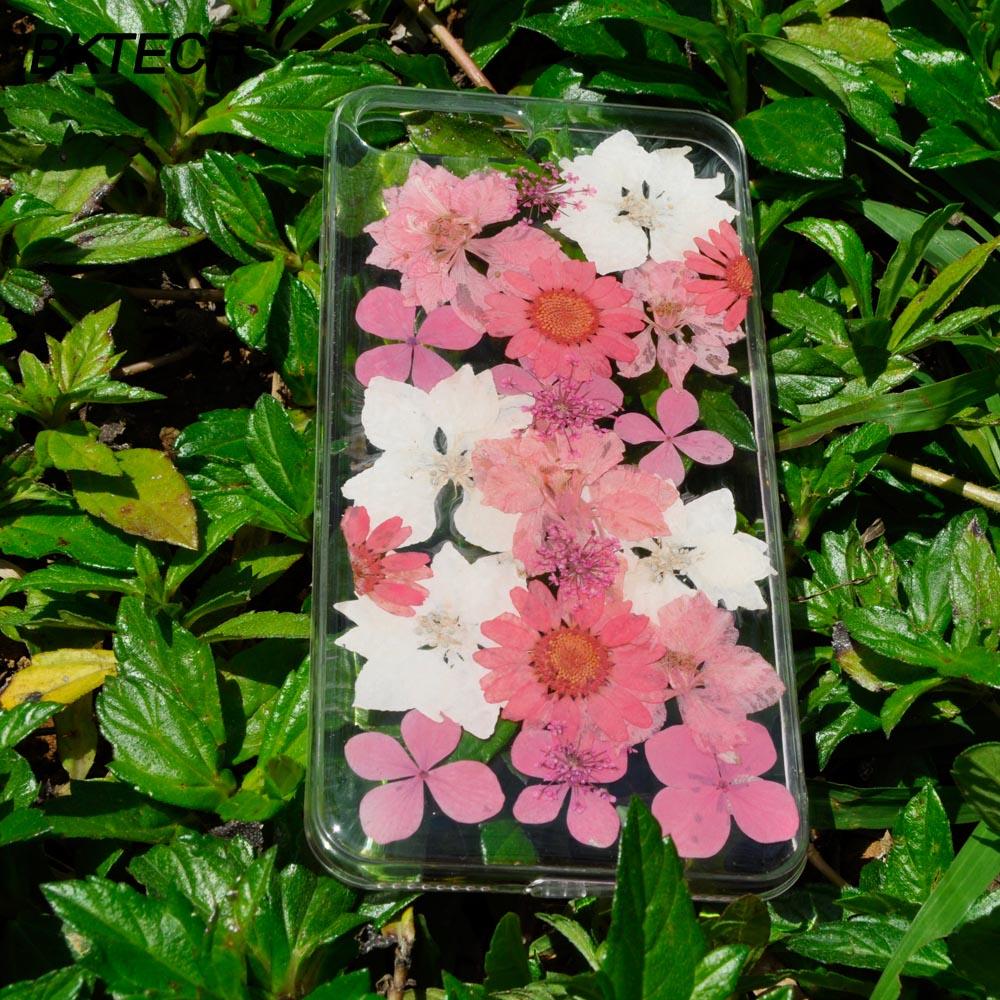 Модні білі та рожеві квіткові чохлики - Аксесуари та запчастини для мобільних телефонів - фото 3