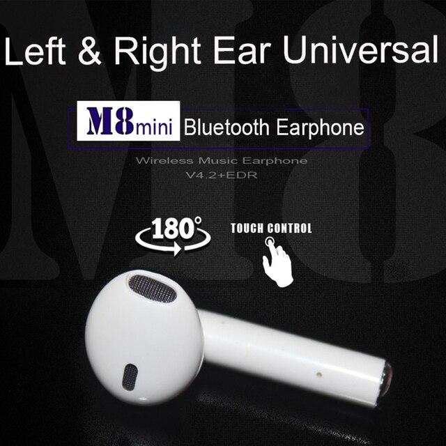 838945e2b18 I8 TWS 180 Degress Rotation Left Right Universal Mini Wireless Bluetooth  Earphone Music Sport Bluetooth Headset