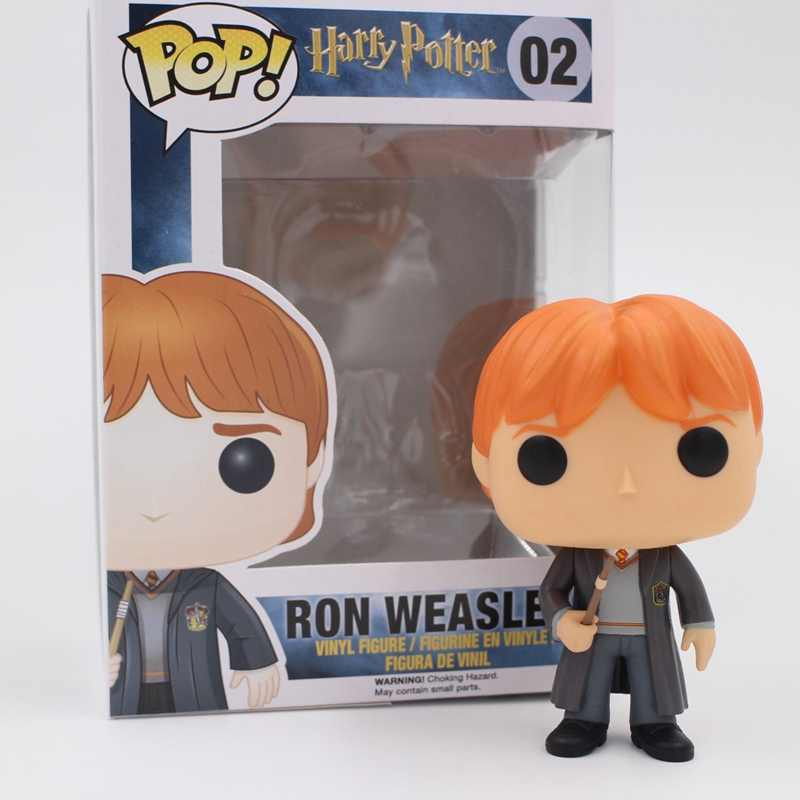 Funko pop Original Harry potter-Ron Weasley Action Figure Hot Filme De Vinil Colecionável Figura Brinquedos Modelo com caixa Original