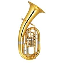 Bb euphonium четыре клапана с корпусом и мундштук латунный звонок лак Музыкальные инструменты профессиональный