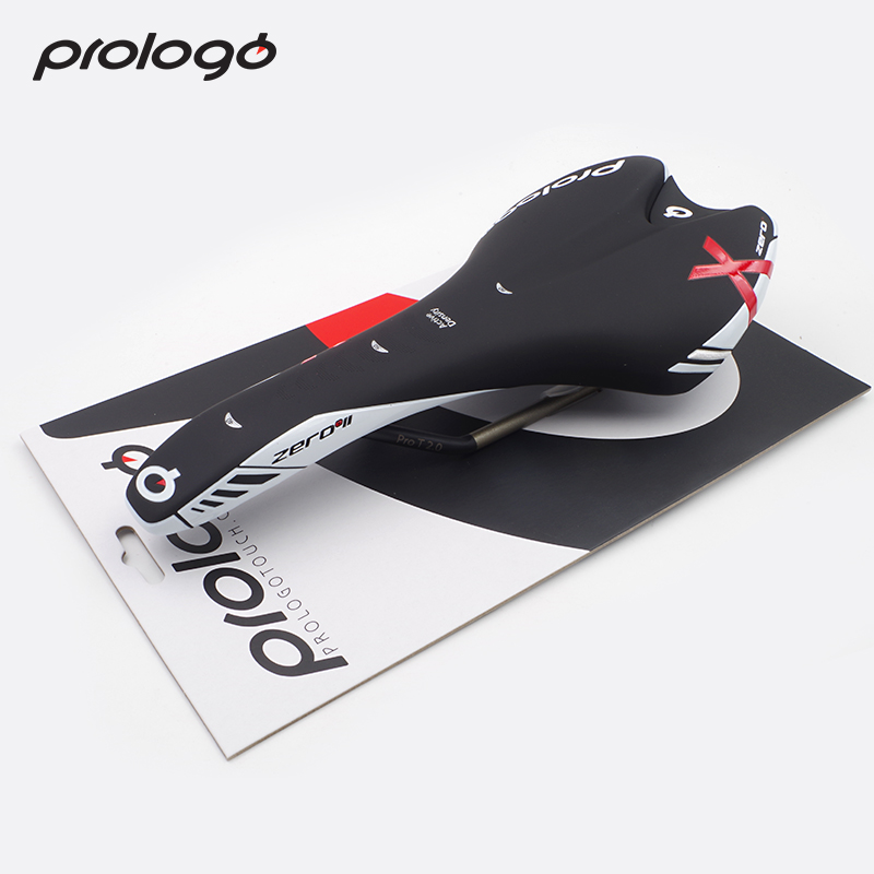 Original Prologo X ZERO II Saddle Microfiber+T2.0 Rail Bike Saddle Seats White Black Color Cycling Front Seat Mat High Quality цена