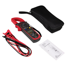 ST201 Digital Multimeter Clamp ammeter transistor tester cap