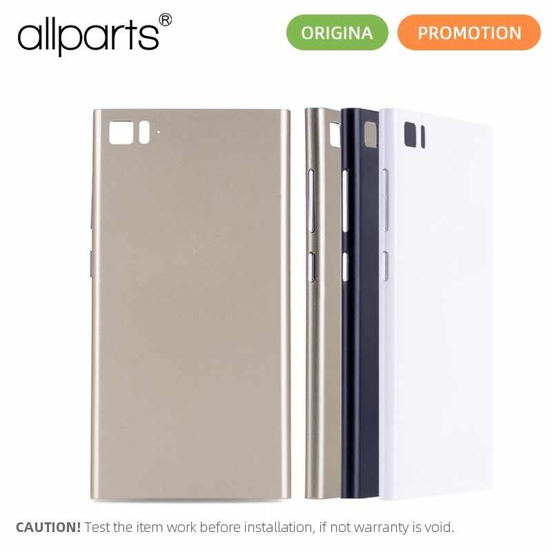Original Rear Back Housing for XIAOMI Mi3 Back Cover Mi 3 Battery Door with Volume Power Button Replacement