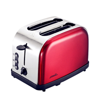 220V 800w toaster multi function Automatic toaster 2 slices household stainless toaster