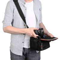 DSLR Shoulder Bag Waterproof Camera Bag For Nikon D3200 D3100 D5100 D7100 D5200 D5300 D3300 D90