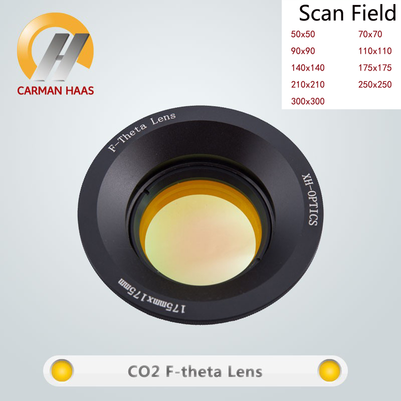Carmanhaas CO2 F theta lentille de balayage Laser 10.6um champ de balayage 300*300mm pour Machine de marquage Laser co2 - 4