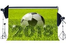 Fußballplatz Hintergrund 2018 Grün Gras Wiese Natur Sport Spiel Schule Spiel Tapete Fotografie Hintergrund