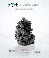 OASE Британский биорб оригинальный Аквариум Моделирование черной руды украшения натуральные украшения черной руды скала в аквариуме