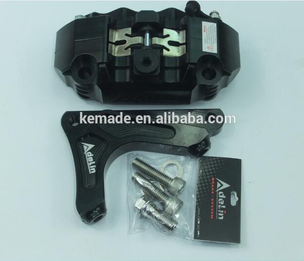 cnc caliper for ruckus ADL14 Caliper with bracket 4 pistion caliper