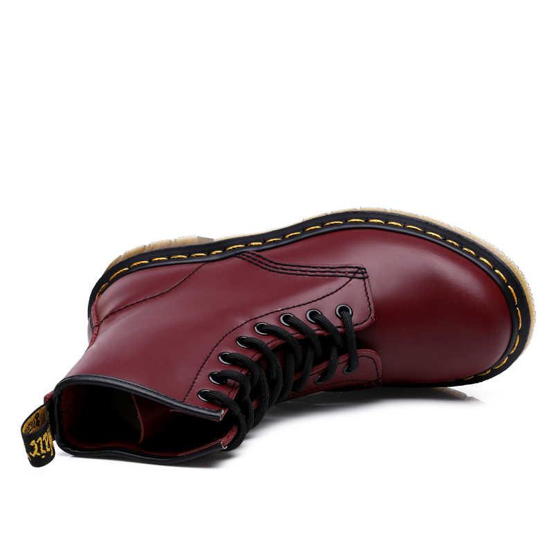 Горячая Распродажа 2019 мужские ботинки на меху Роскошные брендовые ботинки Нескользящая Повседневная Рабочая обувь мужские резиновые военные тактические тренировочные ботинки