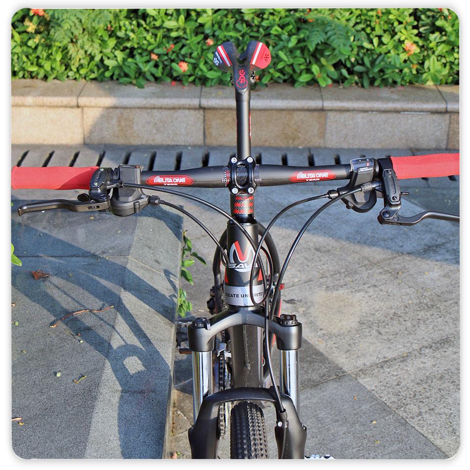 ELITA ONE Neue Mountainbike UD Matt Carbon Lenker MTB Horizontal Flache Lenker Riser Carbon Fahrrad