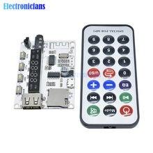 Bezprzewodowy LED cyfrowy Bluetooth płyta dekodera Audio moduł dźwiękowy z pilot na podczerwień do samochodu MP3 FM TF karta micro sd