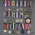 Militar Crachá Medalha de Crachá Broche Retro, Alfinetes E Emblemas Retro Medalha Emblema coreano Metal Gear Militar Remendo Militar