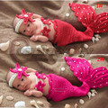 the little mermaid princess children's hand-knit wool knit mermaid suit pictures baby one hundred days baby clothes clothing