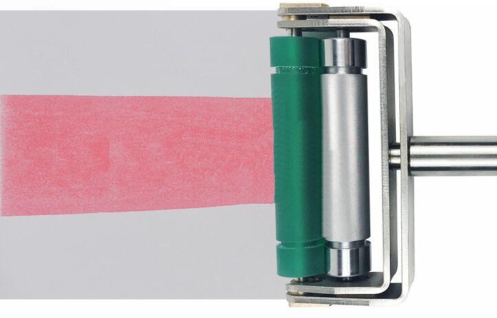 Flexo Printing BAOSHISHAN Flim Applicator Hand Ink Proofer Ink Printing for Ink Production LPI300 Carton Printing