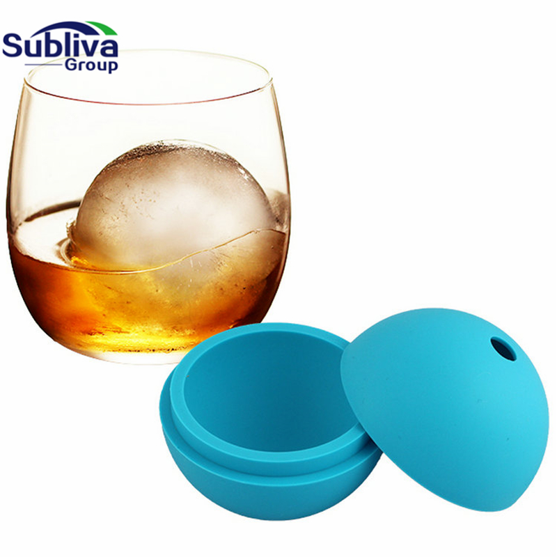 Ice Cream Maker Ice Ball Mold Whiskey Cocktail Silicone