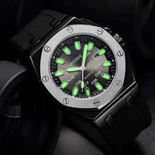 ¡Novedad de 2020! Reloj de moda para hombre de marca de lujo resistente al agua, relojes de cuarzo de negocios, reloj deportivo militar para hombre, reloj Masculino