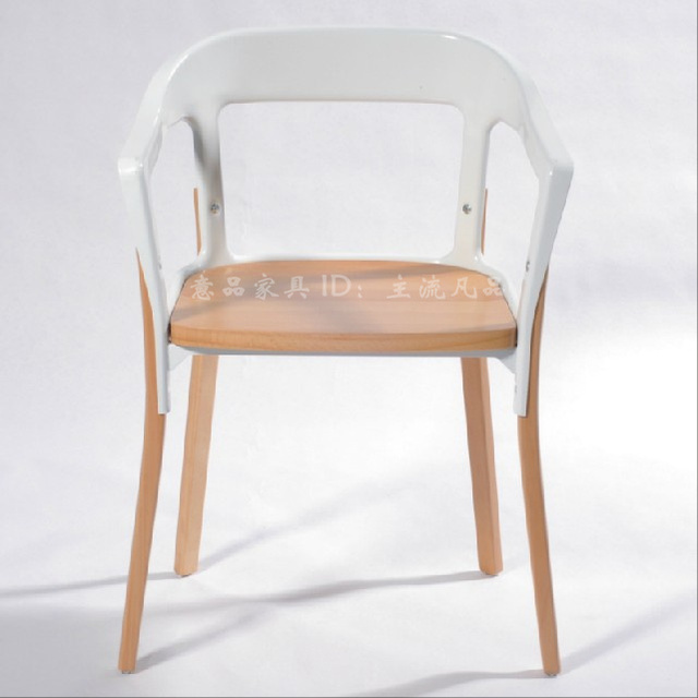 The New Scandinavian Style Furniture Solid Wood Dining Chair Ikea