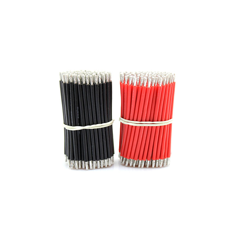 Free shipping 100pc 10cm <font><b>12</b></font> <font><b>awg</b></font> <font><b>silicone</b></font> <font><b>wire</b></font> quality Aircraft model flexible <font><b>silicone</b></font> cable for battery high temperature image