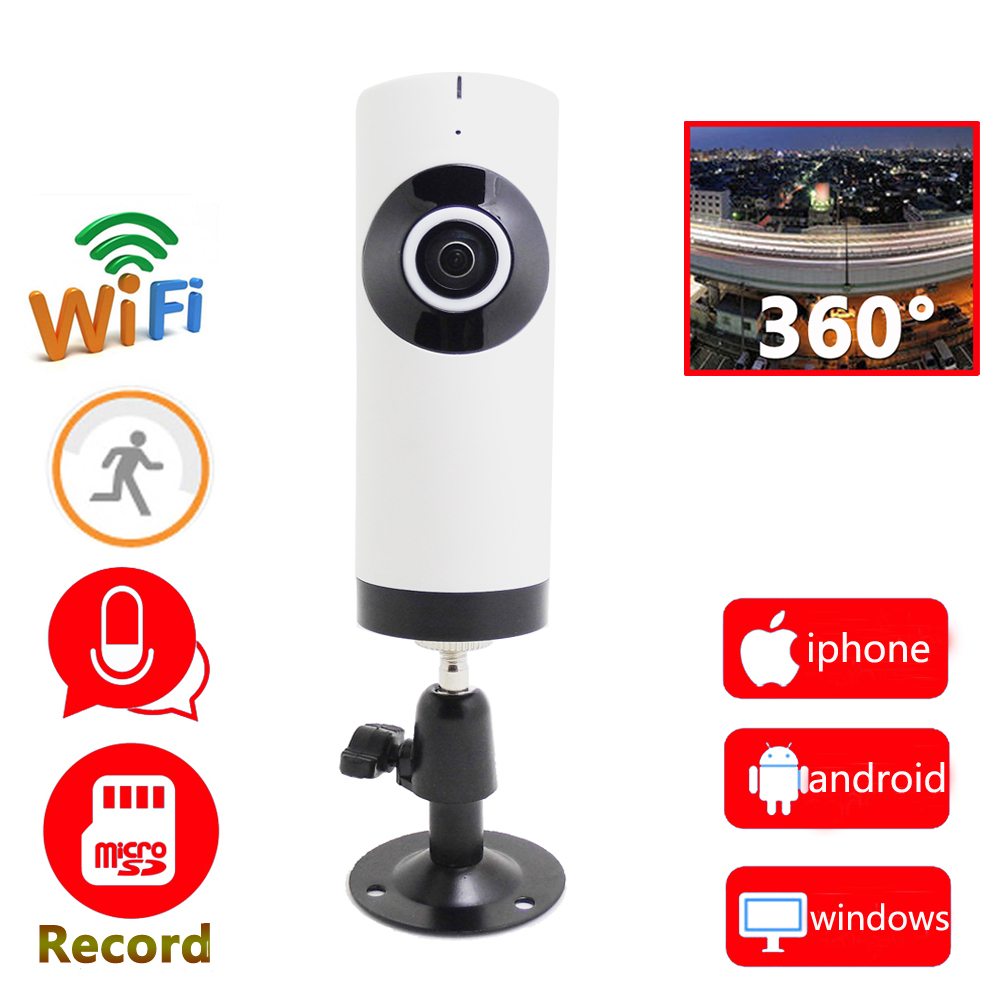 720p ip camera wifi panoramic 360 panorama mini cctv security wireless ip camera de seguridad. Black Bedroom Furniture Sets. Home Design Ideas