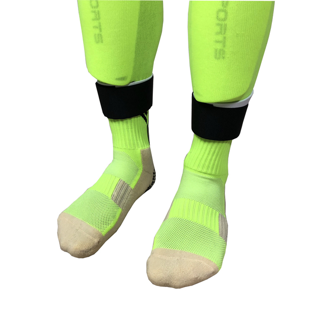 1 Pair Hot sale fixed leg sports protective gear football soccer socks leggings Guards Guardian calf fixing belt free shipping