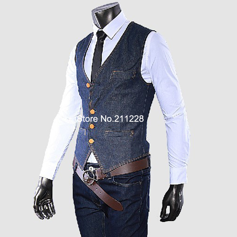 Popular Jean Jackets Vest for Men-Buy Cheap Jean Jackets Vest for